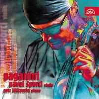 Přední strana obalu CD Paganini: Caprice, Sonáta e moll, Le Streghe, Moto perpetuo