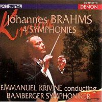 Emmanuel Krivine, Bamberger Symphoniker – Brahms: Symphonies Nos. 1-4