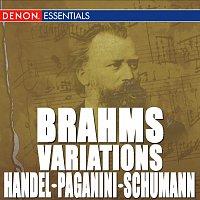 Různí interpreti – Brahms: Variations on a Theme by Handel, Op. 24 - Variation on a Theme of Paganini, Op. 35 - Variations on a Theme by Robert Schumann, Op. 23