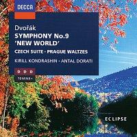 Wiener Philharmoniker, Kirill Kondrashin, Detroit Symphony Orchestra – Dvořák: Symphony No.9 / Czech Suite / Prague Waltzes