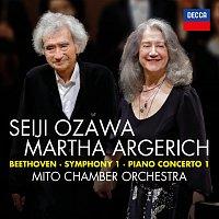 Martha Argerich, Mito Chamber Orchestra, Seiji Ozawa – Beethoven: Symphony No.1 in C; Piano Concerto No.1 in C [Live]