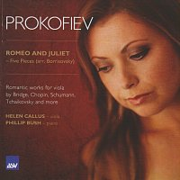 Přední strana obalu CD Romantic Works for Viola