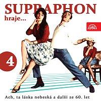 Přední strana obalu CD Supraphon hraje ...Ach, ta láska nebeská a další ze 60. let (4)