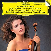 Anne-Sophie Mutter, Chicago Symphony Orchestra, James Levine – Berg: Violin Concerto / Rihm: Time Chant (1991/92)