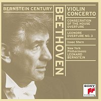 Isaac Stern, Leonard Bernstein, Ludwig van Beethoven, New York Philharmonic Orchestra – Violin Concerto in D Major, Op. 61 & Overtures
