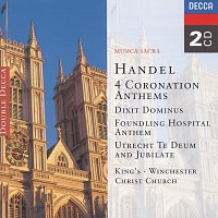 The Choir of King's College, Cambridge, Choir Of Winchester Cathedral – Handel: 4 Coronation Anthems/Dixit Dominus etc. [2 CDs]