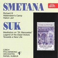 Přední strana obalu CD Smetana : Švédské symfonické básně / Suk : Republikánský triptych