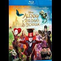 Různí interpreti – Alenka v říši divů: Za zrcadlem Blu-ray