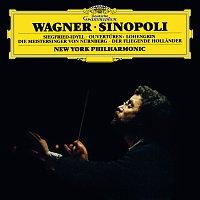 Přední strana obalu CD Wagner: Siegfried Idyll; Ouverturen: Lohengrin, Die Meistersinger von Nurnberg, Der fliegende Hollander