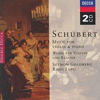 Szymon Goldberg, Radu Lupu, Maurice Gendron, Jean Francaix – Schubert: Music for Violin & Piano; Arpeggione Sonata [2 CDs]