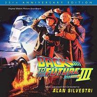 Přední strana obalu CD Back To The Future Part III: 25th Anniversary Edition [Original Motion Picture Soundtrack]