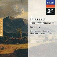 Přední strana obalu CD Nielsen:The Symphonies Nos. 1-3 [2 CDs]