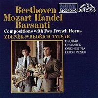 Přední strana obalu CD Beethoven - Barsanti - Händel - Mozart: Skladby pro lesní rohy