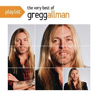 Přední strana obalu CD Playlist: The Very Best Of Gregg Allman