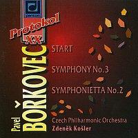 Česká filharmonie/Zdeněk Košler – Bořkovec: Start, Symfonie č. 3, Symfonietta