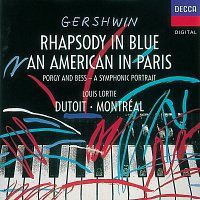 Přední strana obalu CD Gershwin: An American In Paris; Rhapsody in Blue