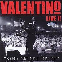 Přední strana obalu CD Valentino Live ! - Samo Sklopi Okice