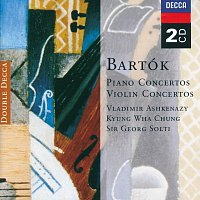 Přední strana obalu CD Bartók: Piano Concertos; Violin Concertos