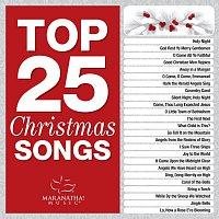 Přední strana obalu CD Top 25 Christmas Songs