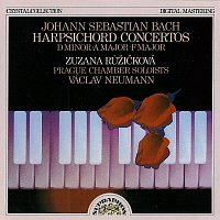 Zuzana Růžičková – Bach: Koncerty pro cembalo