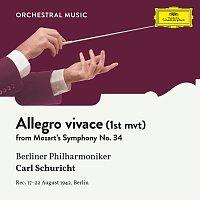 Berliner Philharmoniker, Carl Schuricht – Mozart: Symphony No. 34  In C, KV 338: I. Allegro vivace