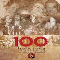 Přední strana obalu CD 100 Lagu-Lagu Popular Pilihan DJ Chauari Selamat