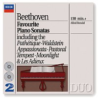 Alfred Brendel – Beethoven: Favourite Piano Sonatas [2 CDs]