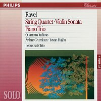 Quartetto Italiano, Arthur Grumiaux, Istvan Hajdu, Beaux Arts Trio – Ravel: String Quartet; Violin Sonata; Piano Trio