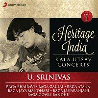 U. Srinivas – Heritage India (Kala Utsav Concerts, Vol. 1) [Live]