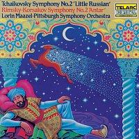 """Lorin Maazel, Pittsburgh Symphony Orchestra – Tchaikovsky: Symphony No. 2 """"Little Russian"""" / Rimsky-Korsakov: Symphony No. 2 """"Antar"""""""