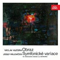 Přední strana obalu CD Kučera: Obraz, Páleníček: Symfonické variace