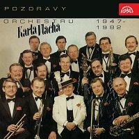 Přední strana obalu CD Pozdravy orchestru Karla Vlacha (1947-1982)