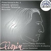Halina Czerny-Stefanska, Česká filharmonie/Václav Smetáček – Chopin: Koncert pro klavír a orchestr č. 1 e moll, Andante spianato..., Mazurky