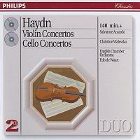Salvatore Accardo, Christine Walevska, English Chamber Orchestra, Edo de Waart – Haydn: Violin Concertos/Cello Concertos [2 CDs]