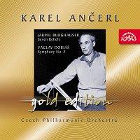 Přední strana obalu CD Ančerl Gold Edition 40. Burghauser: Sedm reliéfů - Dobiáš: Symfonie č. 2