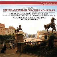 Peter Schreier, Kammerorchester Carl Philipp Emanuel Bach – Bach, J.S.: Brandenburg Concertos Nos. 1-6; Concerto For 3 Violins; Concerto For Flute & Violin