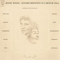 Přední strana obalu CD Jennie Tourel & Leonard Bernstein at Carnegie Hall