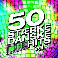 Přední strana obalu CD 50 Staerke Danske Club Hits Vol. 1