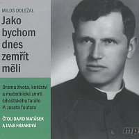 David Matásek, Jana Franková – Jako bychom dnes zemřít měli (MP3-CD)