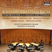 Maurizio Baglini, Gianluca Luisi, Marcello Mazzoni, Andrea Padova, Marco Scolastra – Bach: Concertos For 2, 3, 4 Pianos & Strings