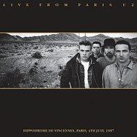 Přední strana obalu CD Live From Paris