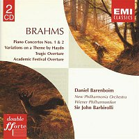 Daniel Barenboim, New Philharmonia Orchestra, Wiener Philharmoniker, Sir John Barbirolli – Brahms: Piano Concertos/Overtures