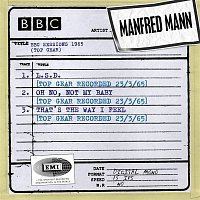 Manfred Mann – BBC Sessions (Top Gear Recorded 1965)