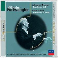 Přední strana obalu CD Brahms 2. Sinfonie, Franck Sinfonie in d-moll