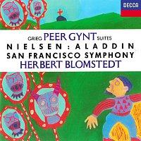 Herbert Blomstedt, San Francisco Symphony – Grieg: Peer Gynt Suites Nos. 1 & 2 / Nielsen: Aladdin Suite; Maskarade Overture