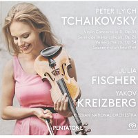 Julia Fischer, Yakov Kreizberg, Russian National Orchestra – Violin Concerto in D, Sérénade mélancolique, Valse-Scherzo, Souvenir d'un lieu cher / J.Fischer, Y.Kreizberg, Russian National Orchestra