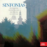 Přední strana obalu CD Symfonie (Jiří Antonín Benda, Jan Václav Stamic, František Václav Míča)