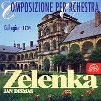 Přední strana obalu CD Zelenka: Orchestrální skladby