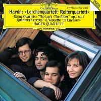"""Hagen Quartett – Haydn: String Quartets Op.64 No.5 """"The Lark""""; Op.1 No.1; Op.74 No.3 """"The Horseman"""""""