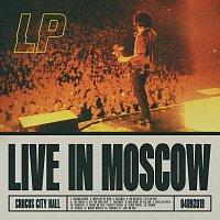 Přední strana obalu CD Live In Moscow